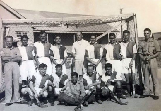 Field Hockey Team - Middle East, early 1940's