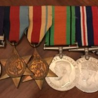 Captain L. J. Lawrence Service Medals