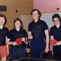 Table Tennis Players - Dunmow Youth Club