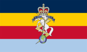 Flag of The Corps of Royal Electrical and Mechanical Engineers
